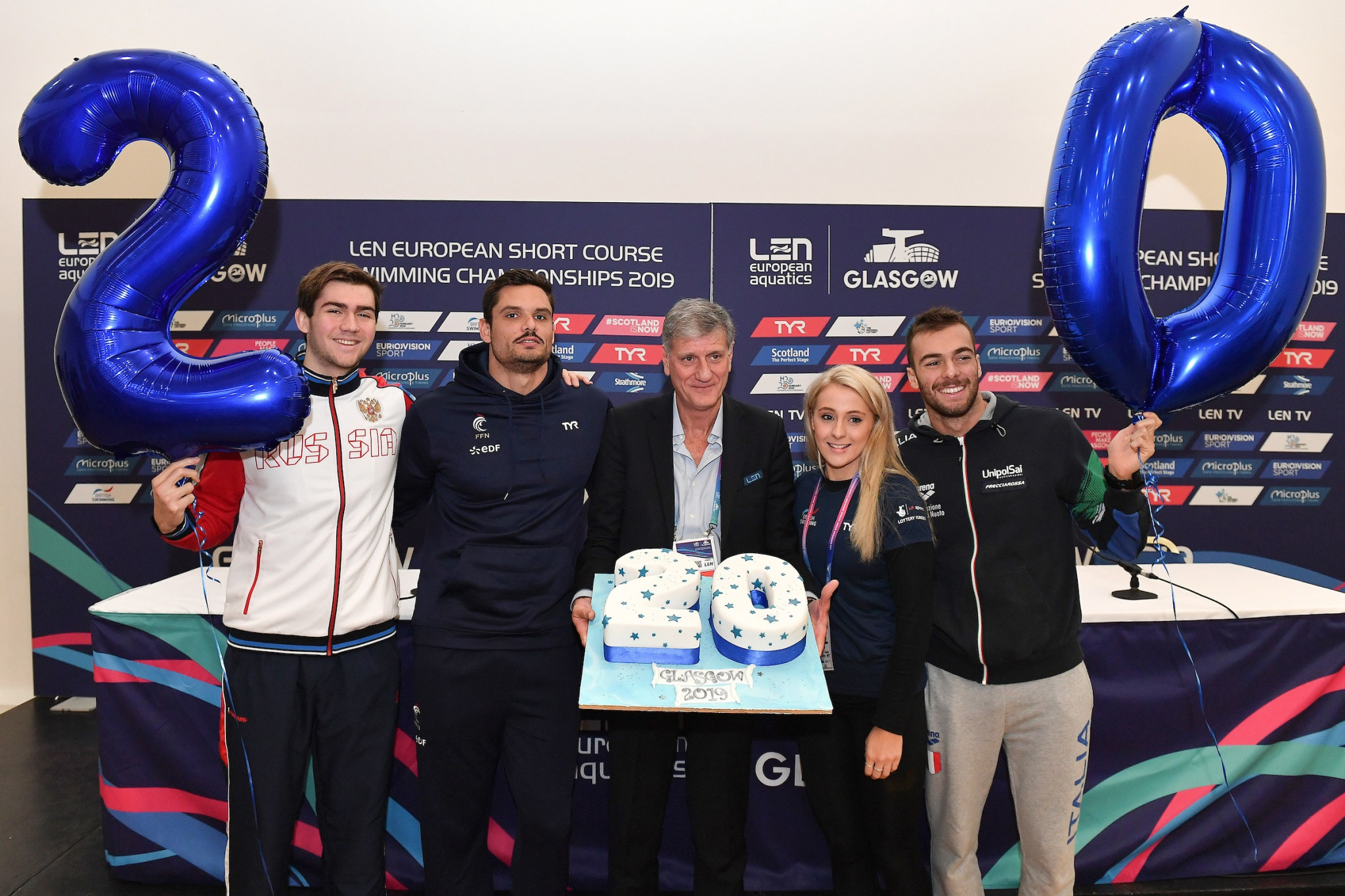 Glasgow will be hosting the 20th edition of the European Short Course Swimming Championships ©Glasgow 2019