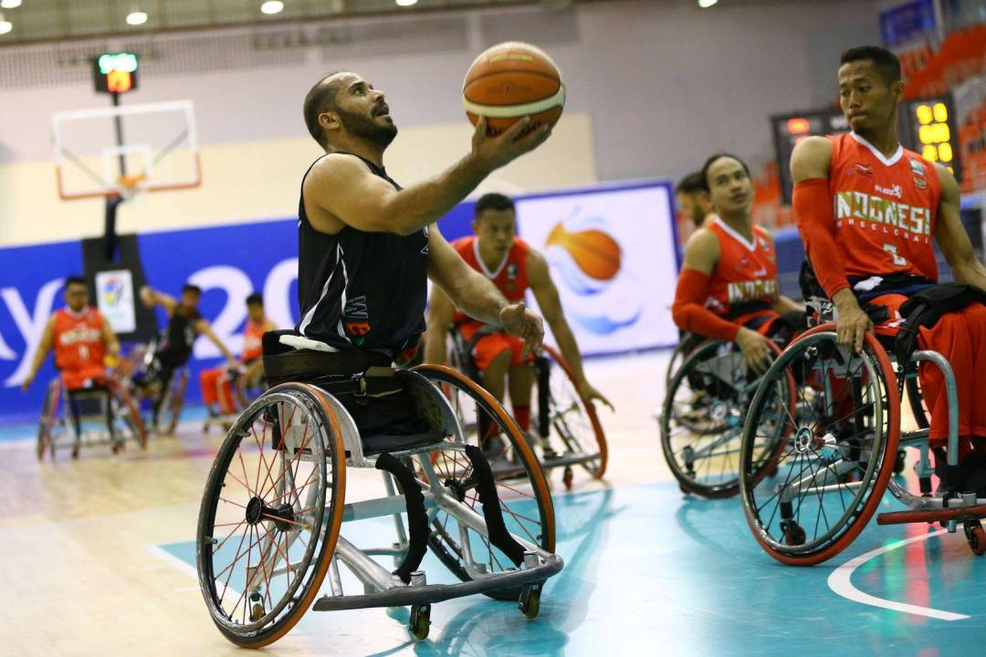The tournament is a key Tokyo 2020 qualifier ©IWBF