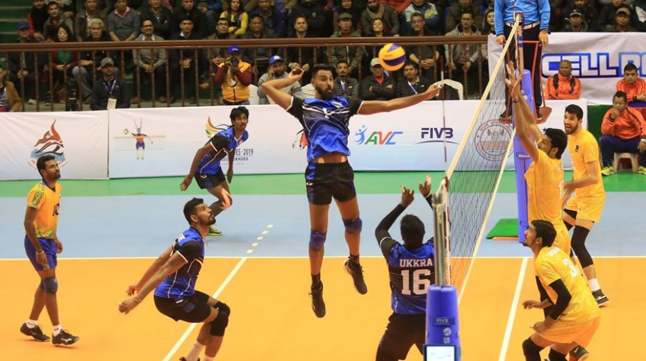 India won both volleyball gold medals ©South Asian Games
