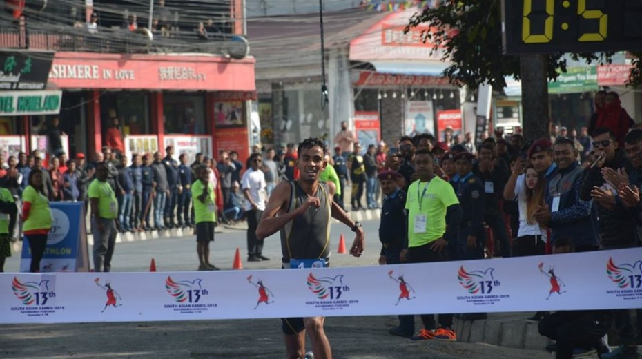Track and field began at the South Asian Games today ©South Asian Games