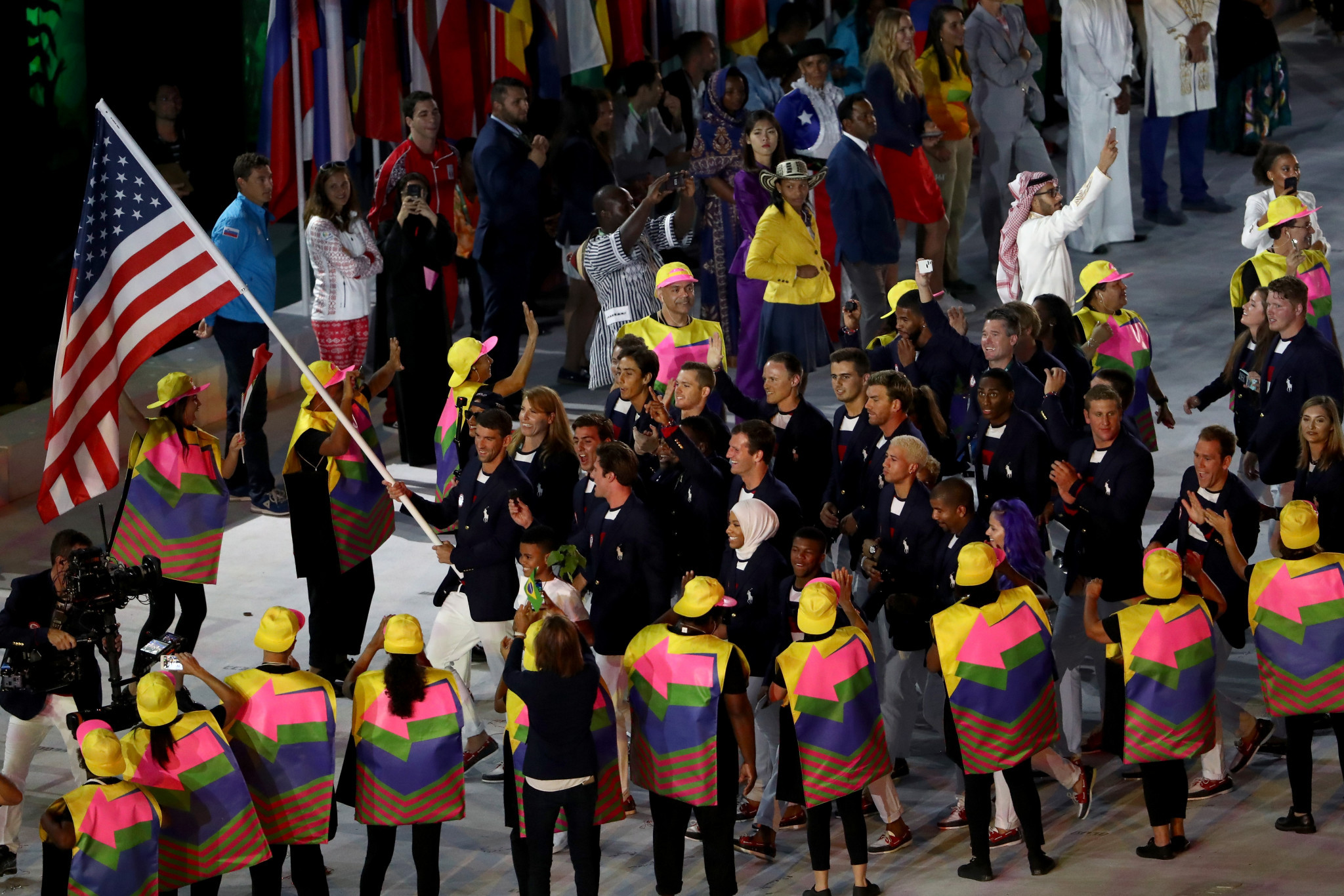 France, United States and Refugee team given prominent slots in Tokyo 2020 parade