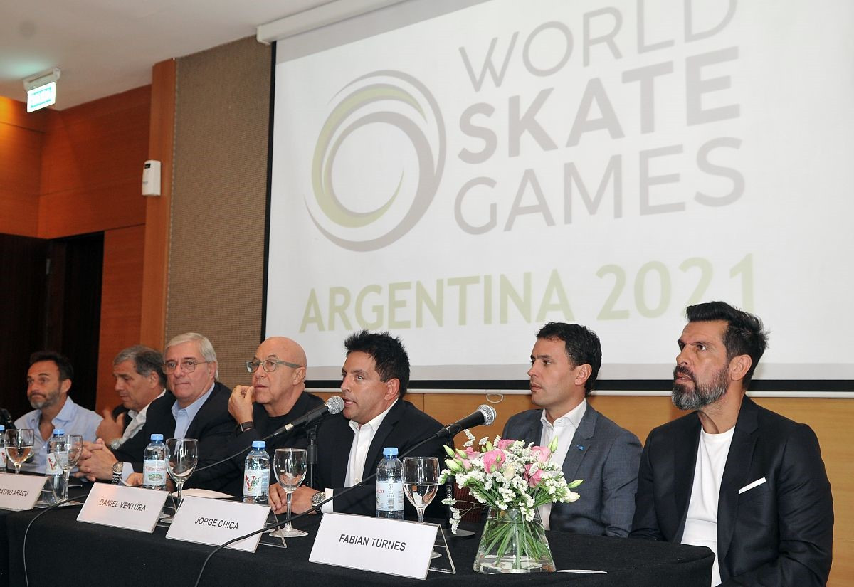 Three cities in Argentina will host events in 2021 ©World Skate