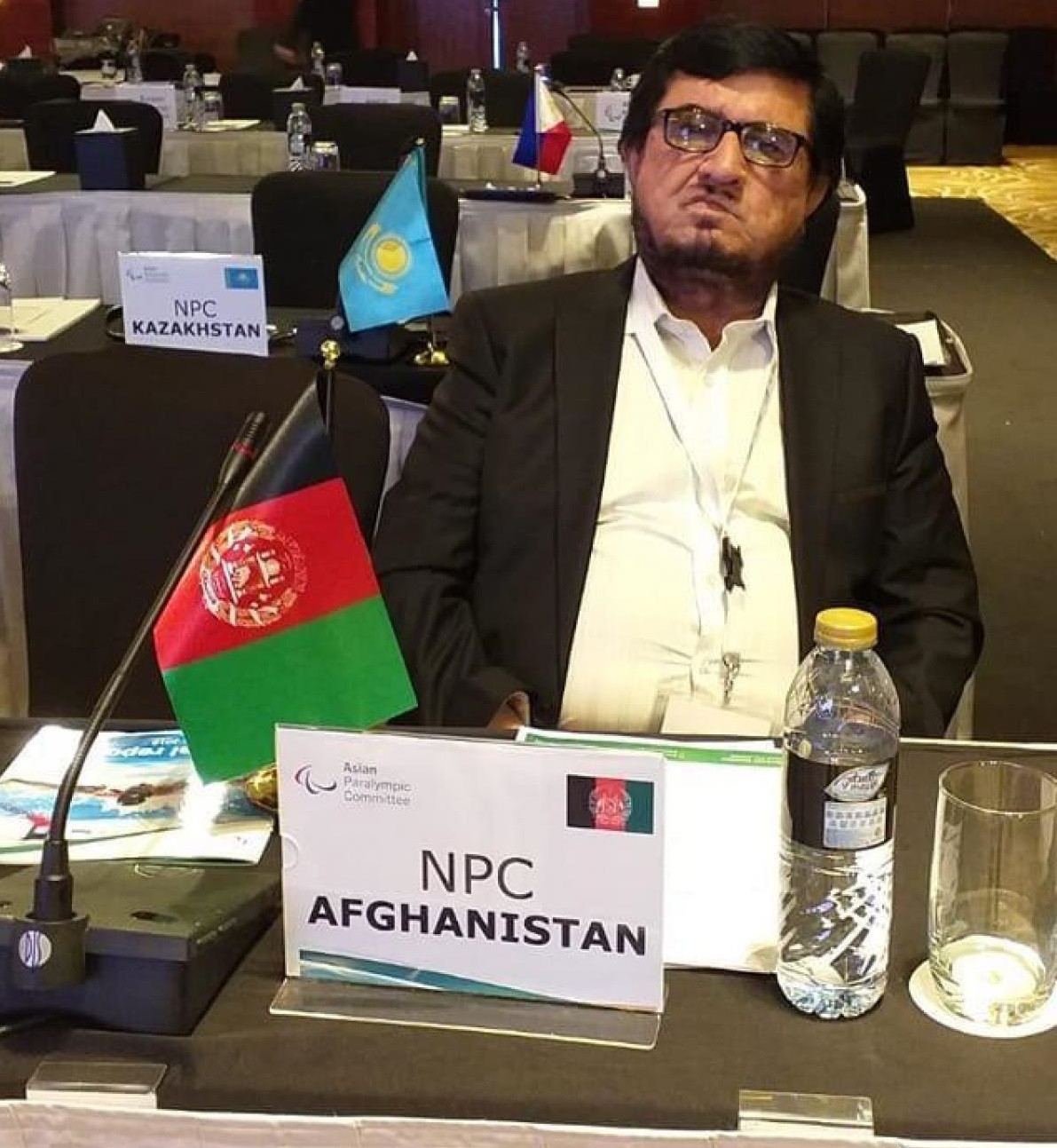 Tributes paid to Afghanistan Paralympic Committee President