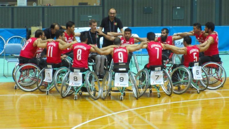 Amir Mahmoud Mahmoudi was a significant figure in Afghan Para-sport ©NPC Afghanistan