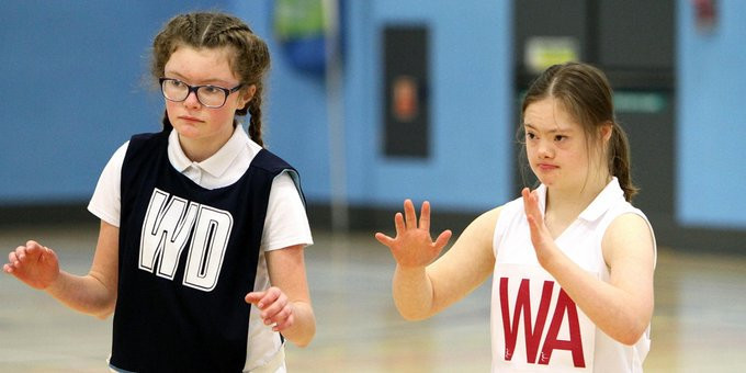 England Netball's mission is to enable more than 5,000 deaf and disabled people to participate in netball programmes by 2021 ©England Netball/Twitter