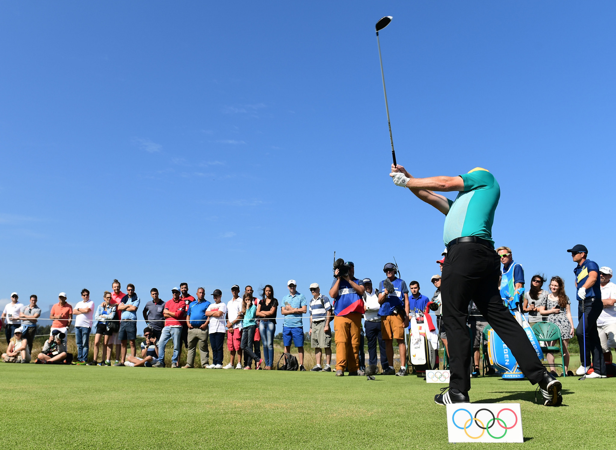 Olympic qualifying window for golf extended by one year