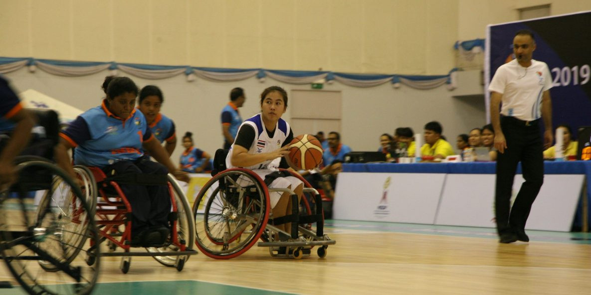 Thailand's women qualified for the semi-finals ©IWBF