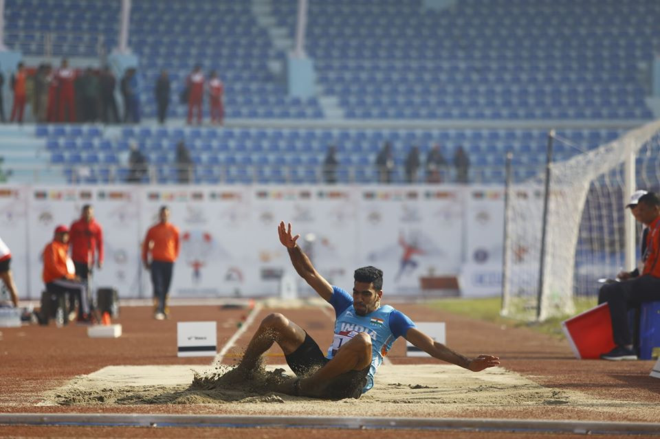 India enjoyed athletics success again in Nepal ©South Asian Games