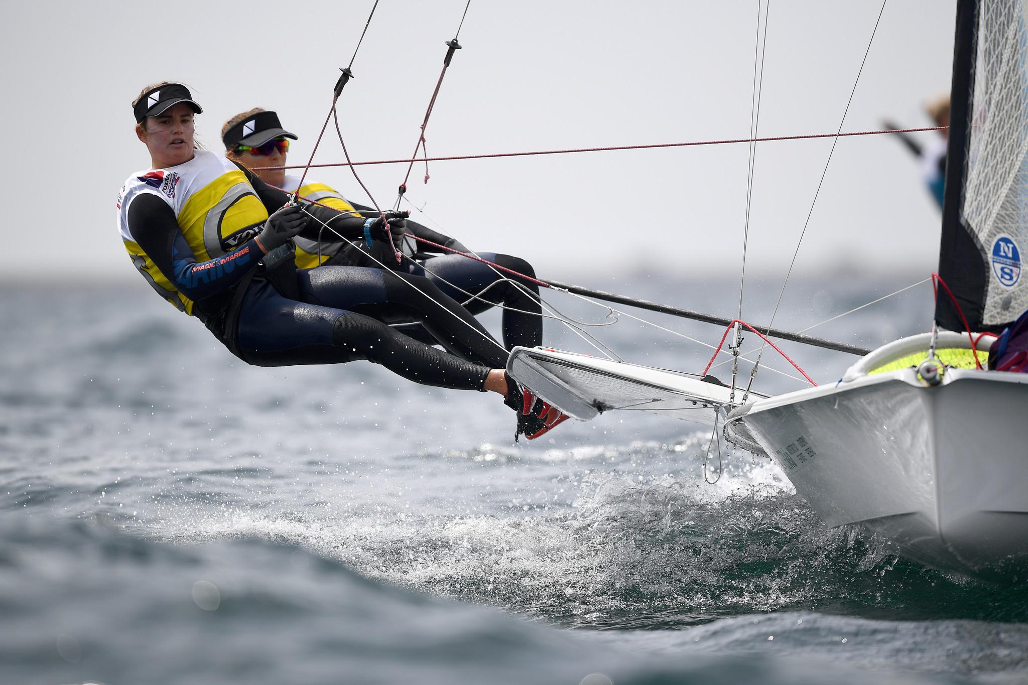 Grael and Kunze top qualifying at 49er, 49erFX and Nacra 17 World Championships