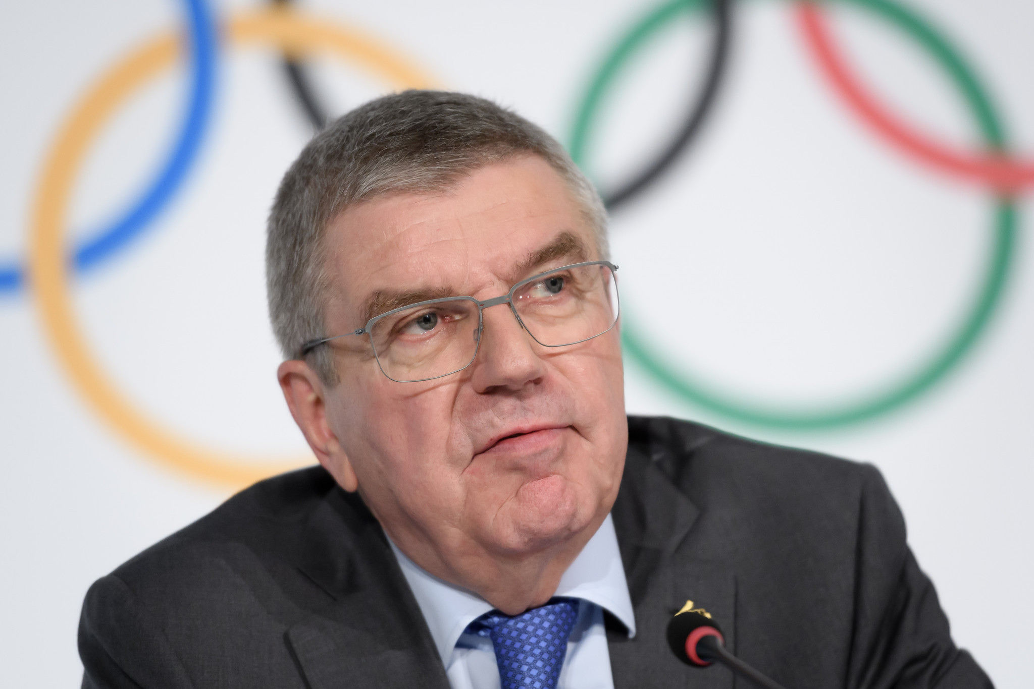 Bach confirms IOC bound by WADA decision on Russia
