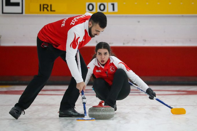 Three teams complete perfect round-robin stage at WCF World Mixed Doubles Qualification Event