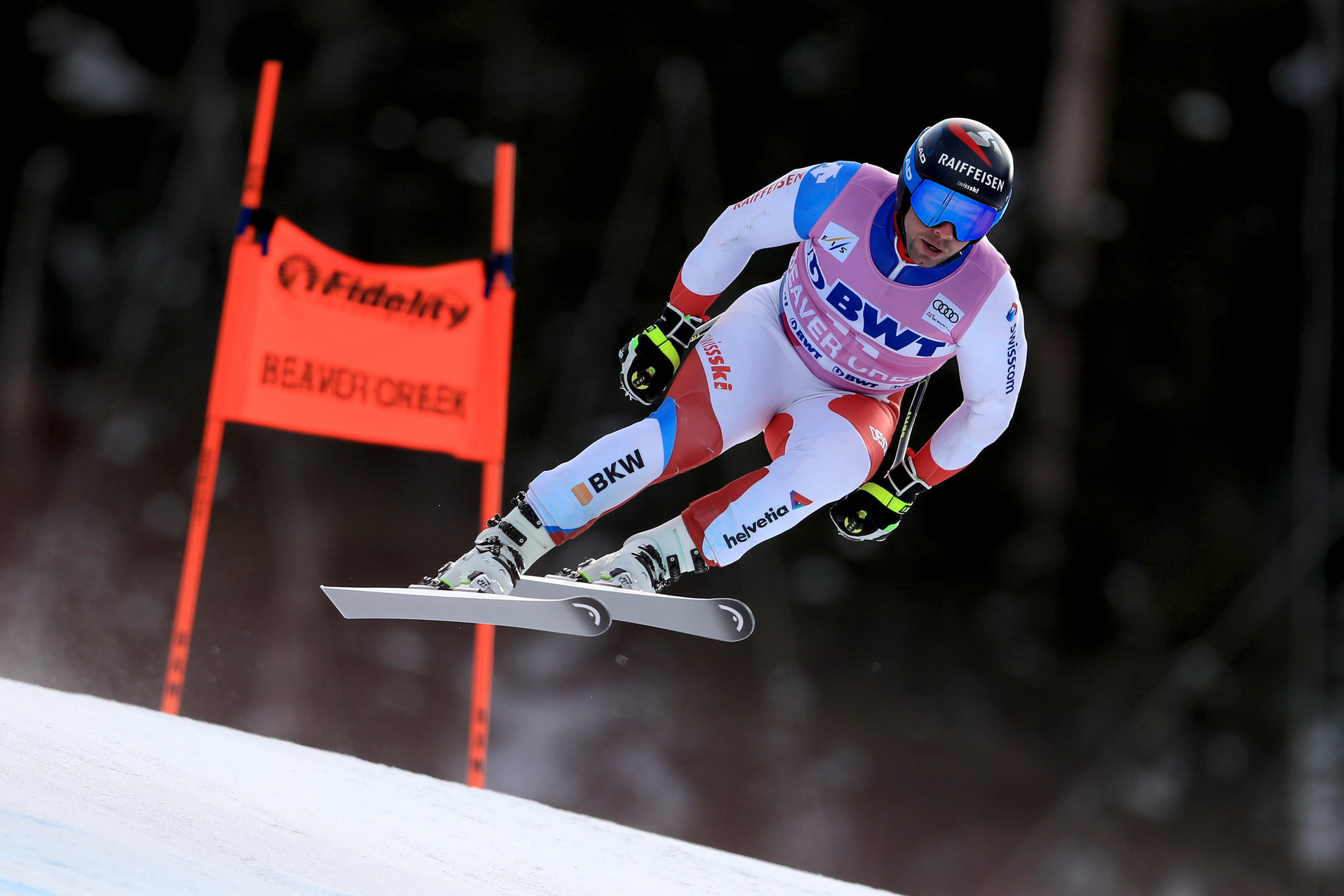 Beat Feuz of Switzerland is considered one of the favourites in the downhill competition ©Getty Images