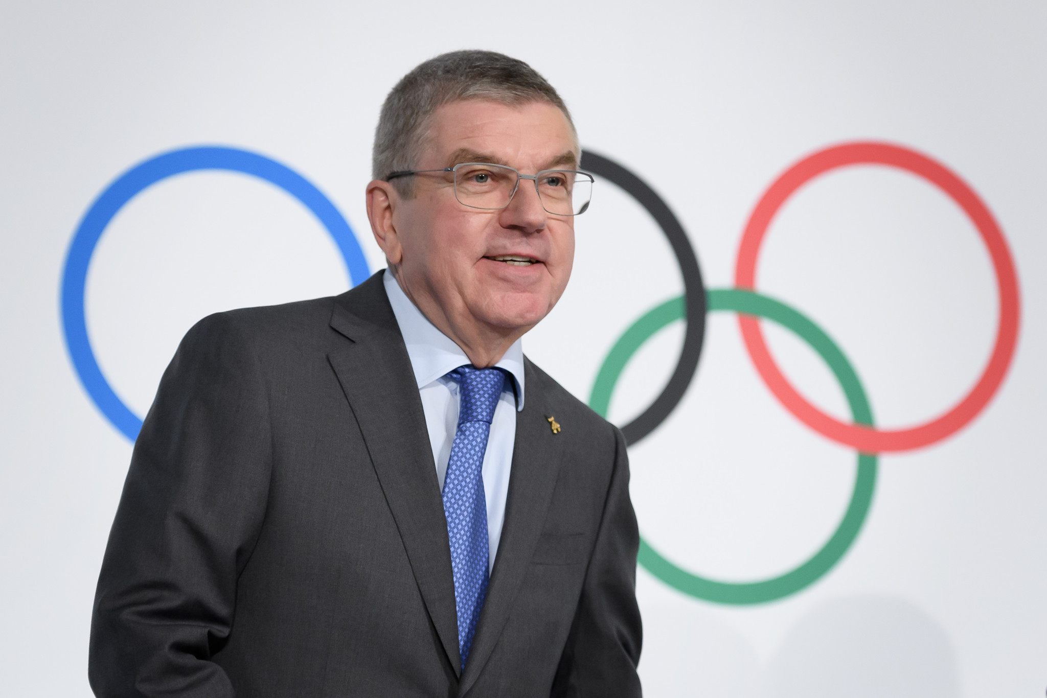 IOC President Thomas Bach said a continued conflict of interest was preventing Sebastian Coe from becoming a member ©Getty Images