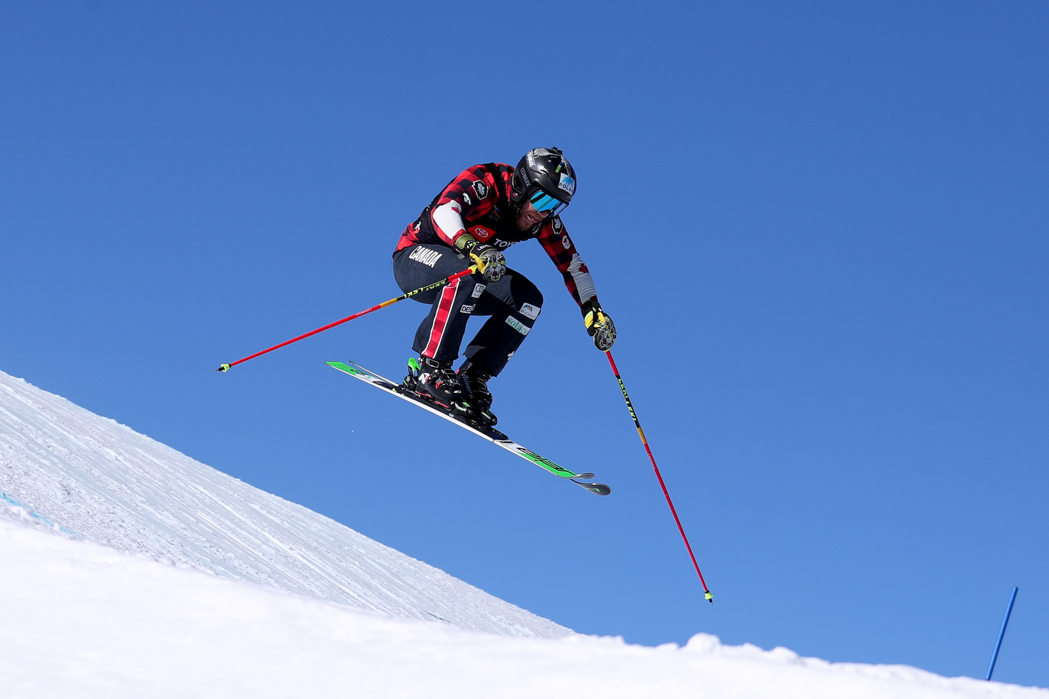 Kevin Drury of Canada topped qualifying in the men's competition ©Getty Images