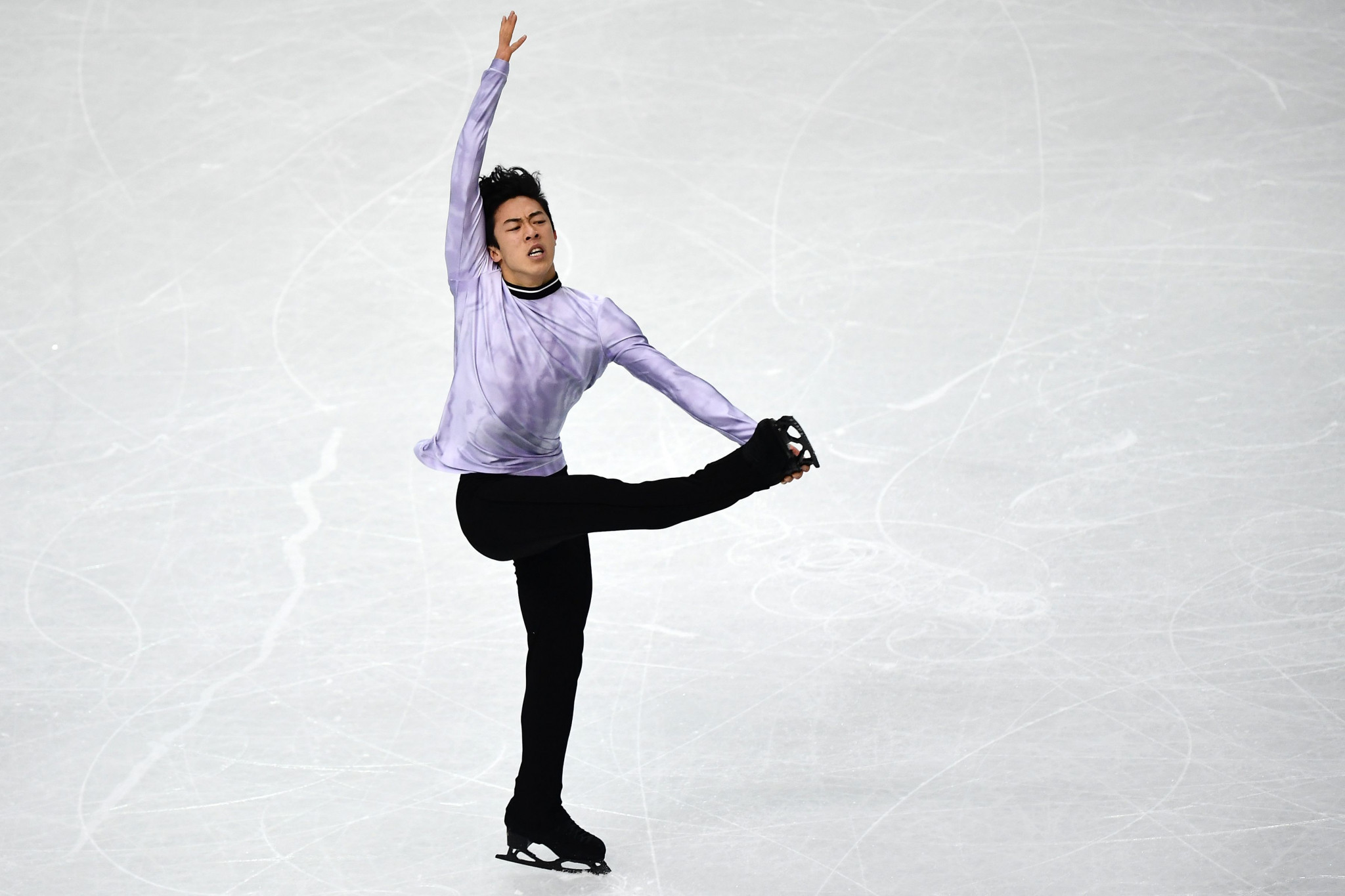 Nathan Chen leads the men's event at the ISU Grand Prix Final ©Getty Images