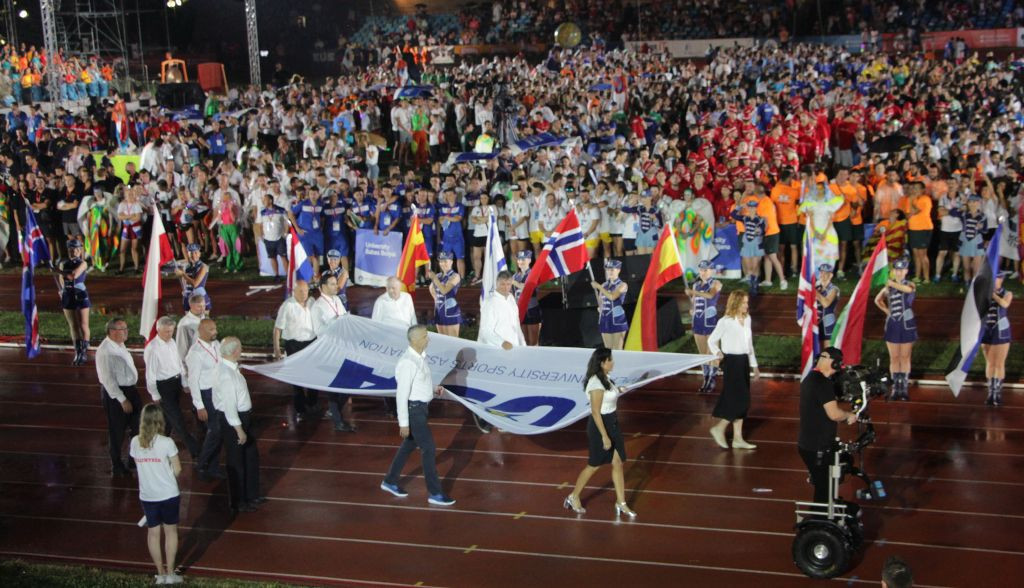 The European Universities Games took place in Coimbra in 2018 ©EUSA