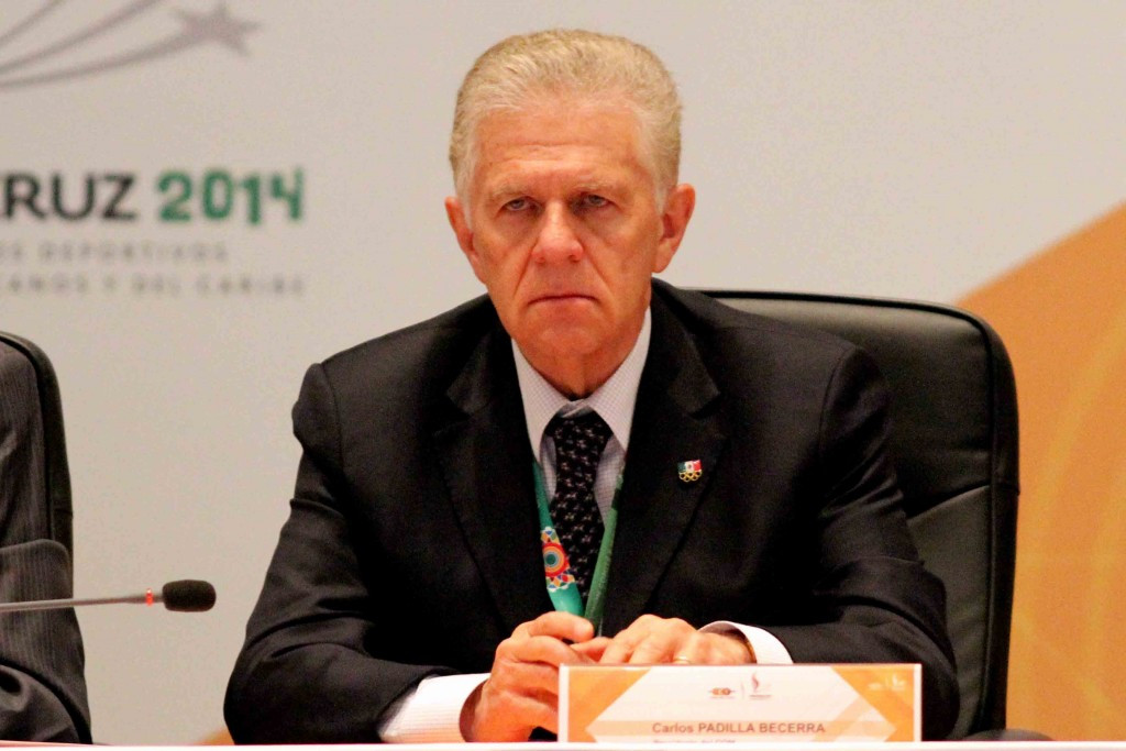 Mexican Olympic Committee President Carlos Padilla is optimistic a solution can be reached that will ensure the country is not suspended by the IOC for Rio 2016 ©Facebook/COM