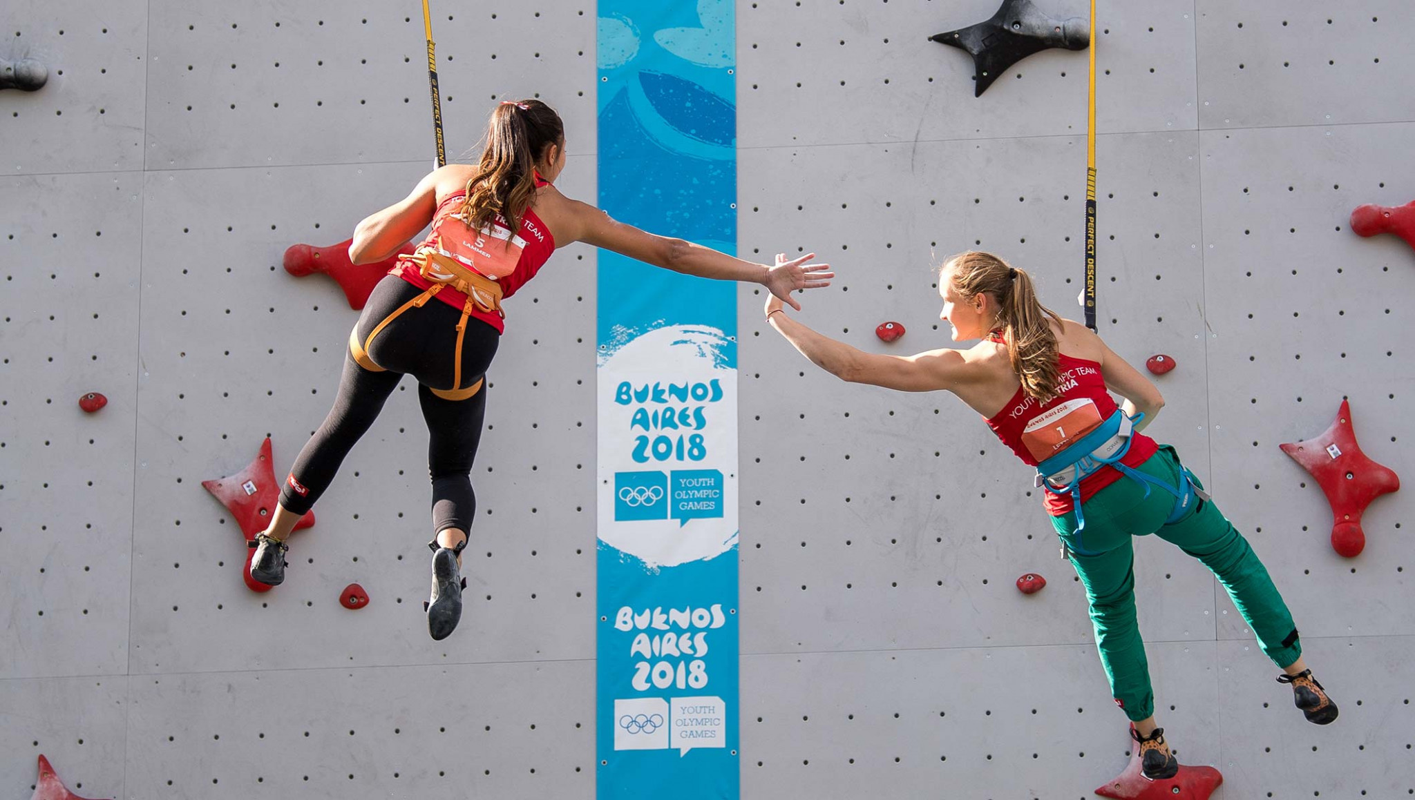 Sport climbing featured at the 2018 Summer Youth Olympic Games in Buenos Aires and will return at Dakar 2022 ©Getty Images