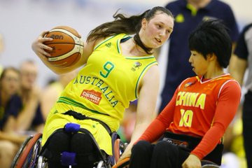 Australia have also booked their place in the women's final ©IWBF/Twitter