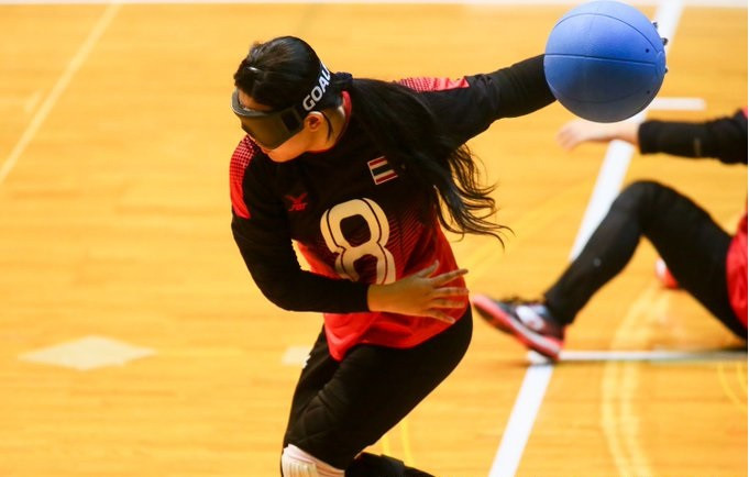 Action continued today at the IBSA Goalball Asia-Pacific Championships in Chiba ©Ryol Chikawa/Japan GoalBall Association