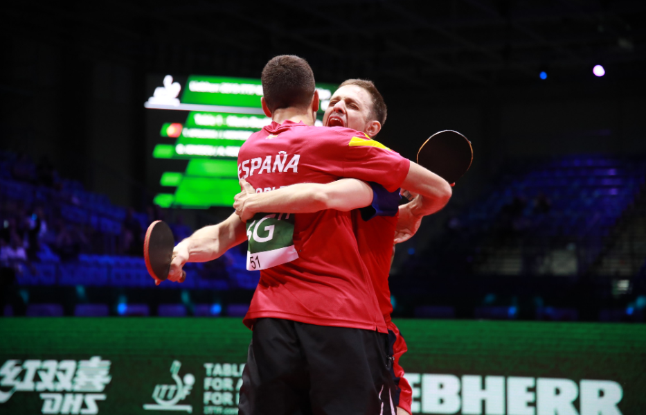 Emotions always run high at the International ITTF World Table Tennis Championships Finals ©ITTF