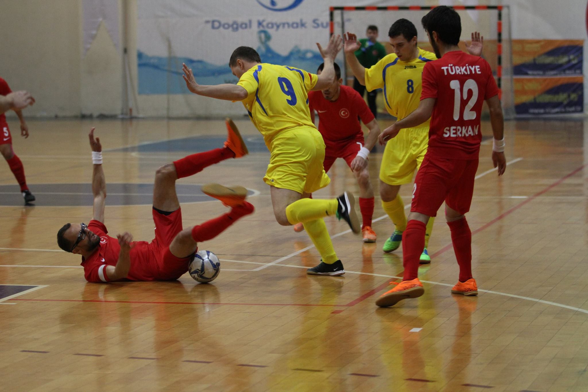 Seven teams are set to contest the IBSA Partially Sighted Football (B2/B3) World Championships ©FutsalTurkey