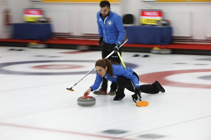 Germany and Italy secure places at 2020 World Mixed Doubles Curling Championship