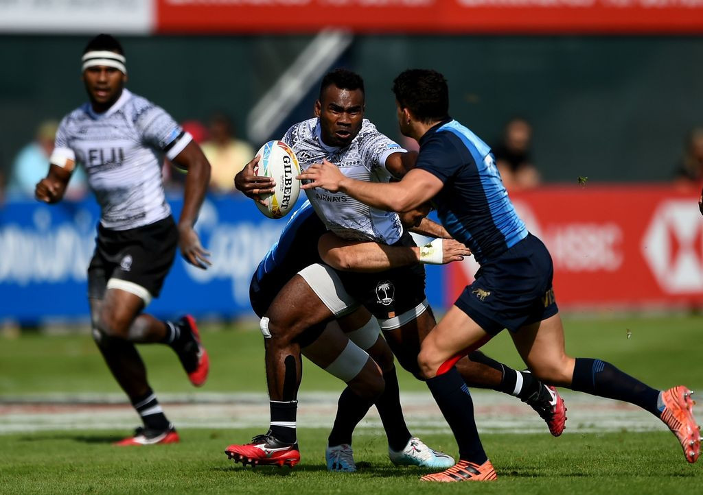 Fiji miss out on quarter-finals for first time at World Rugby Sevens Series event in Dubai