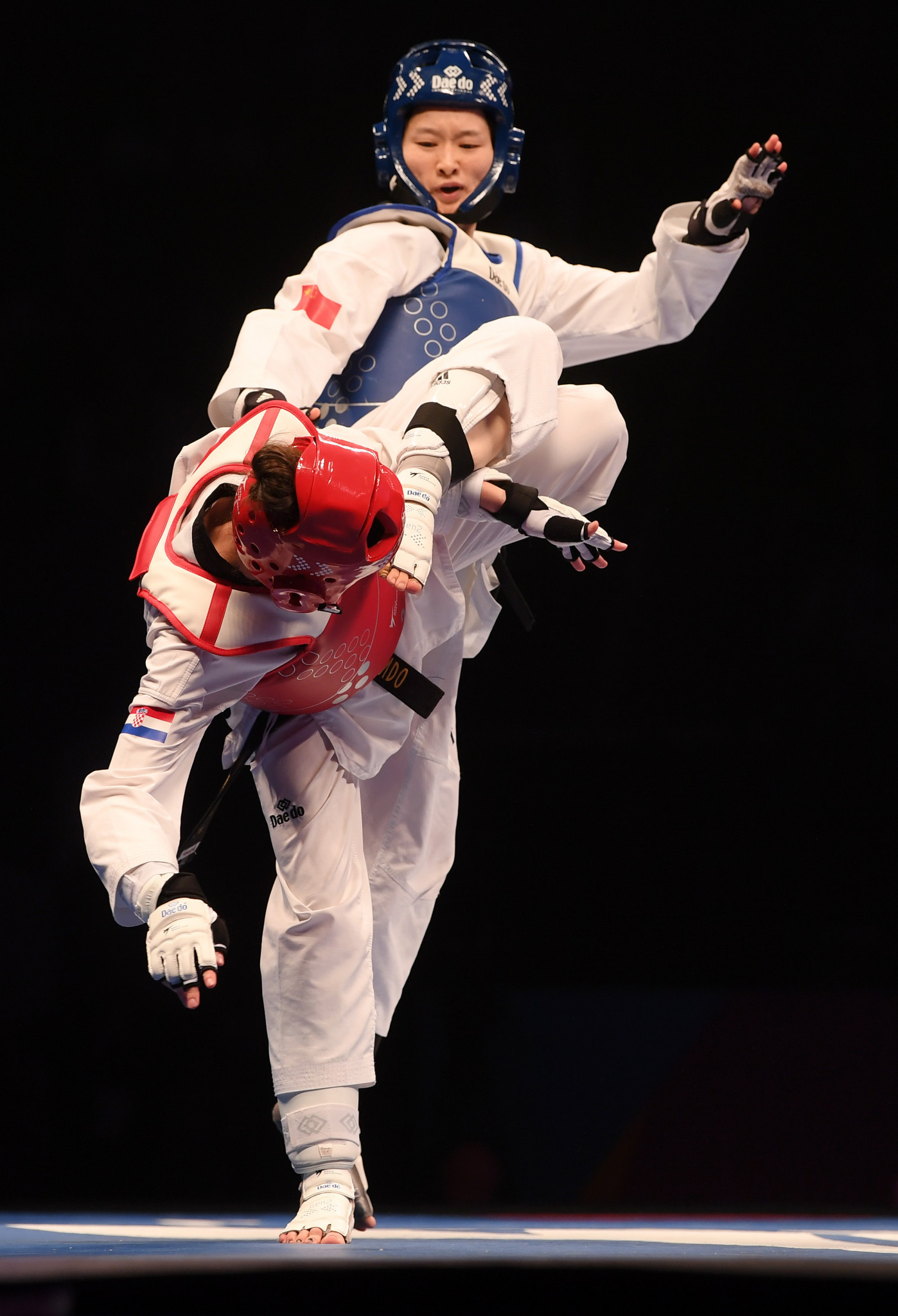 China and South Korea perform strongly on day one of World Taekwondo Grand Prix Final
