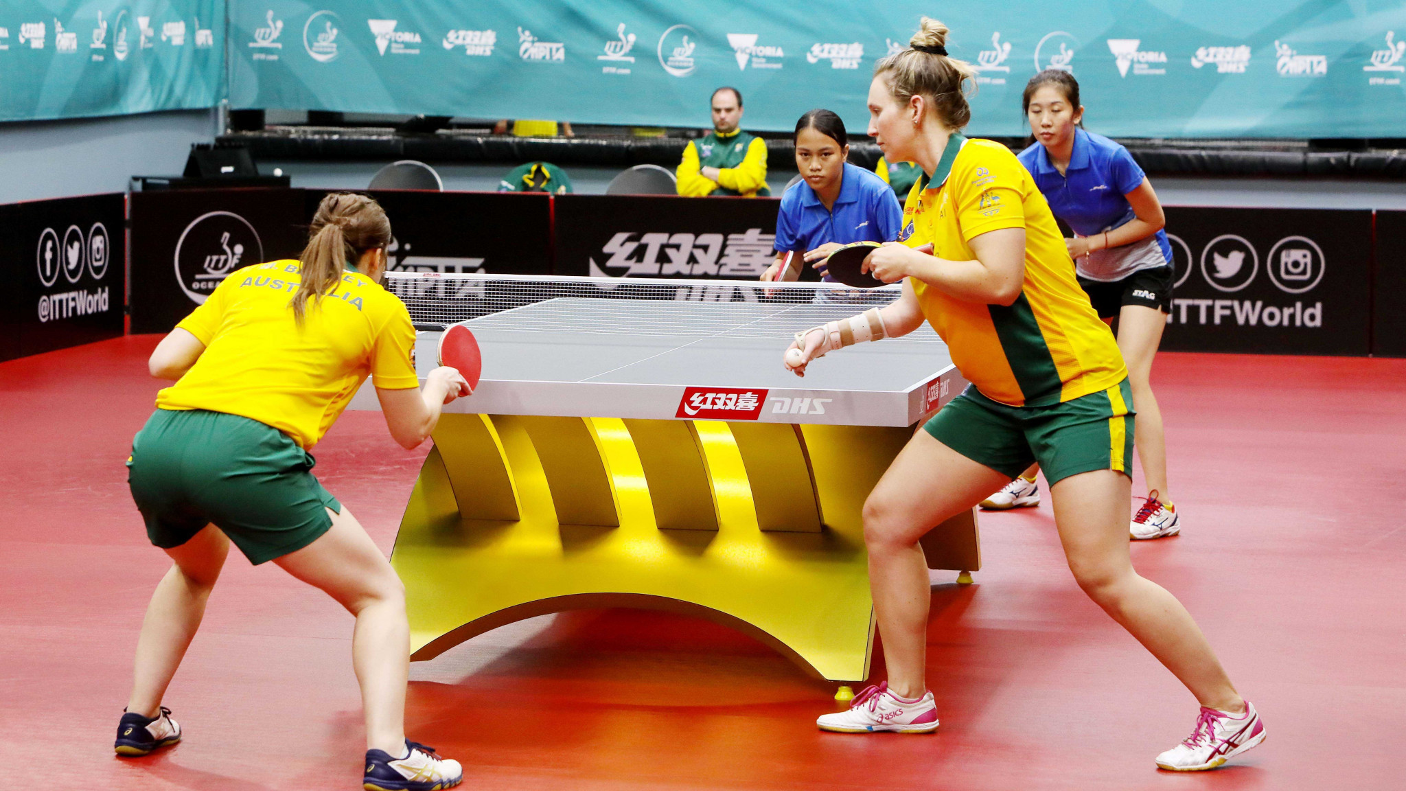 Australia book place at Tokyo 2020 with ITTF Oceania qualification tournament victory