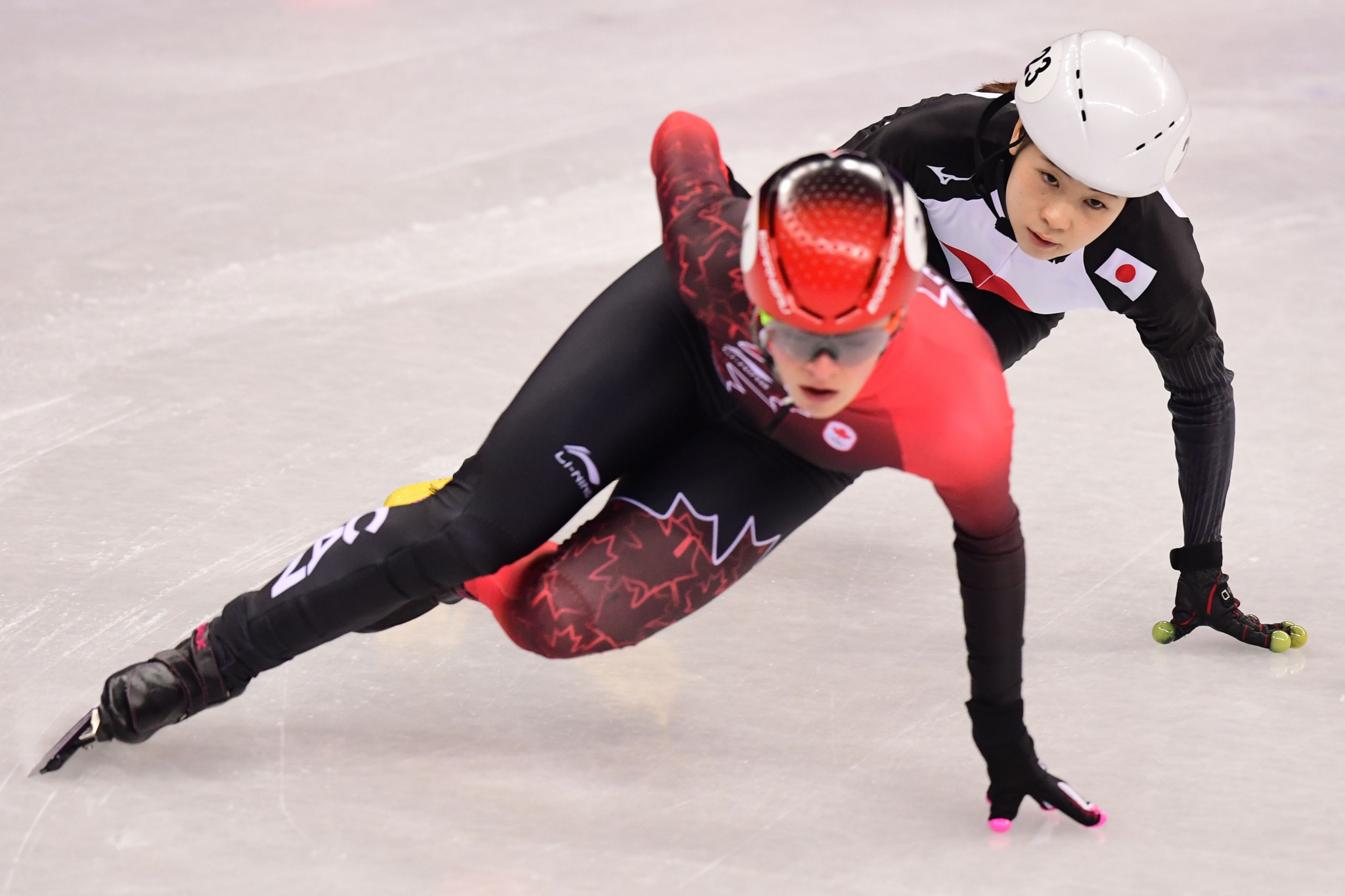 Boutin reaches quarter-finals at ISU Short Track World Cup in Shanghai