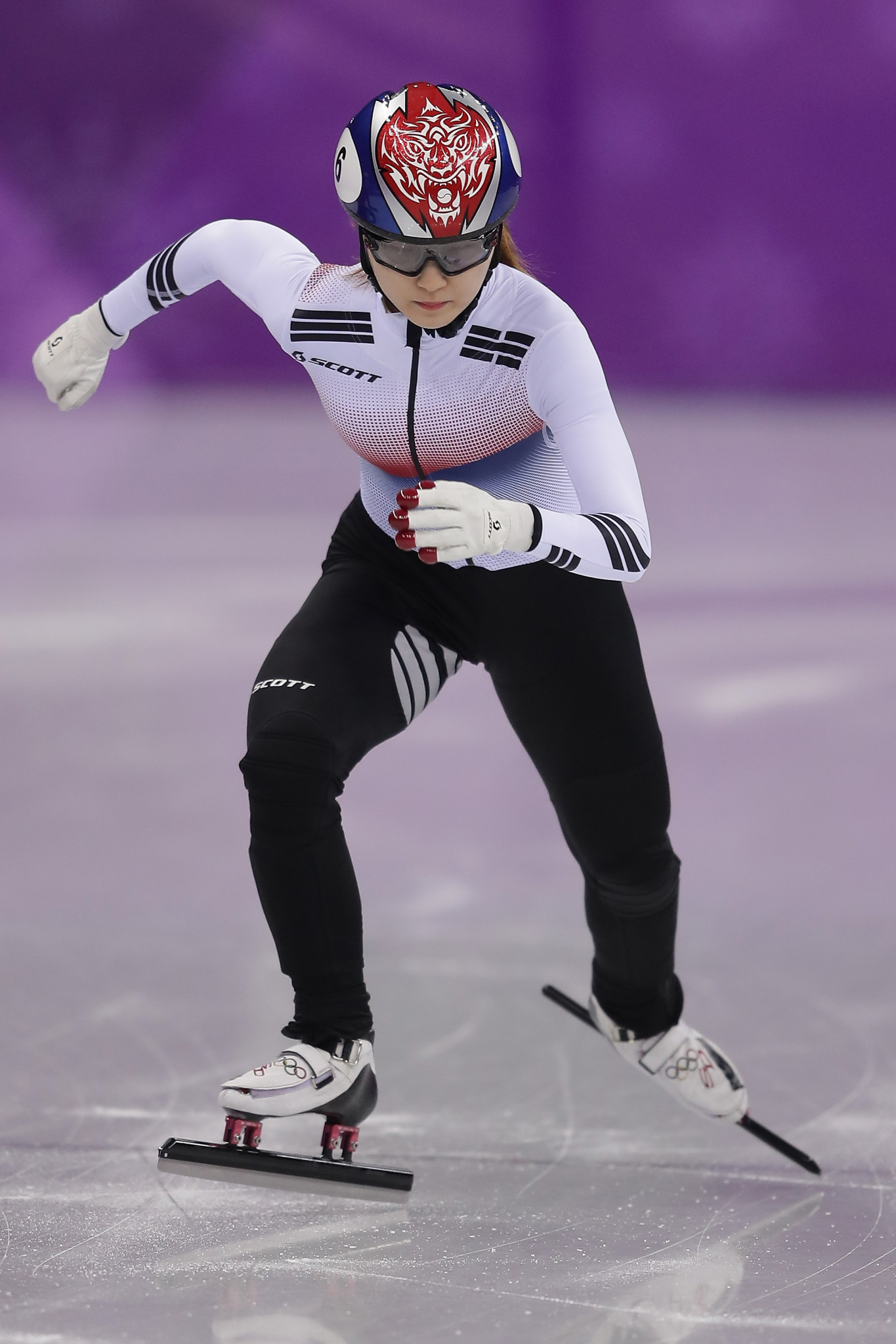 South Korean Olympic champion Choi Min-jeong recorded the fastest time in the women's 1500m quarter-finals ©Getty Images