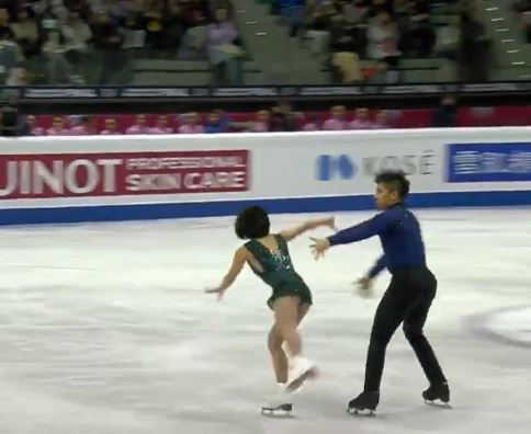 China's Wenjing Sui and Cong Han won the pairs title tonight at the ISU Grand Prix Final in Turin ©ISU
