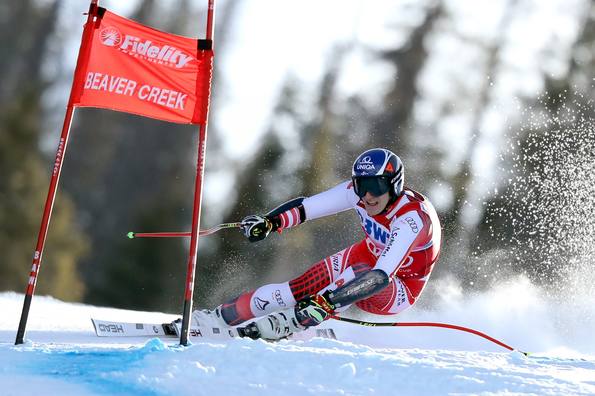 Olympic champion, Matthias Mayer of Austria, finished third in Beaver Creek ©Getty Images
