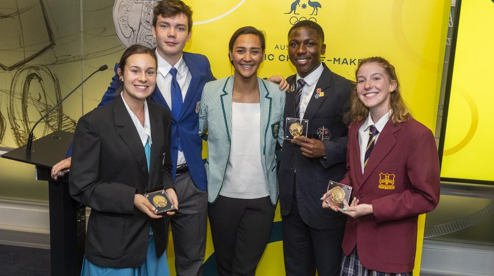 AOC celebrate young leaders at inaugural Australian Olympic Change-Maker national summit
