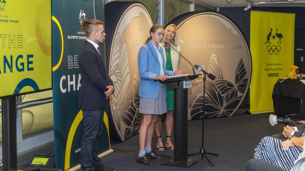 The Change-Makers presented recommendations to the AOC on how the Olympic movement can affect change in key areas ©AOC