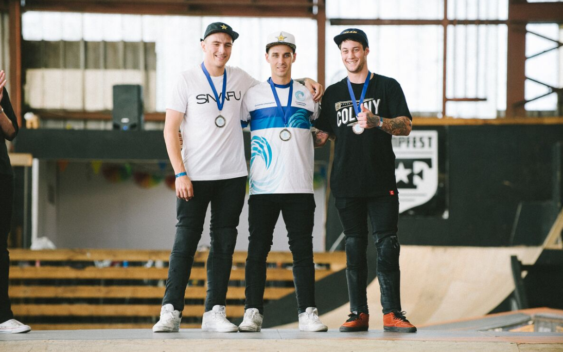 Logan's run takes him to gold at Oceania BMX Freestyle Championships