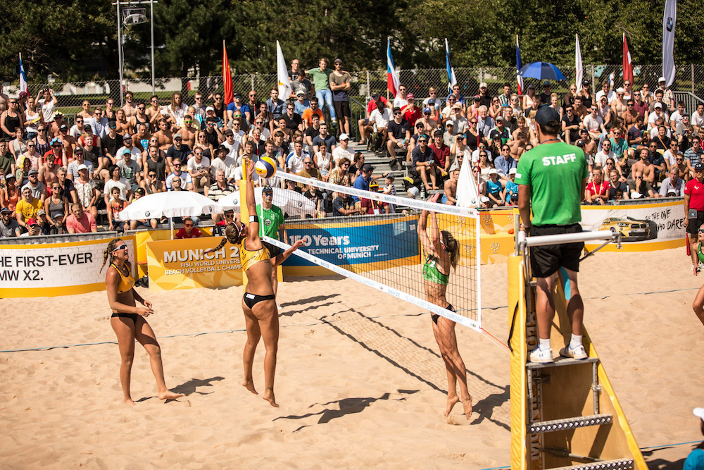 Universiade beach volleyball will be hosted by Lake Placid ©FISU