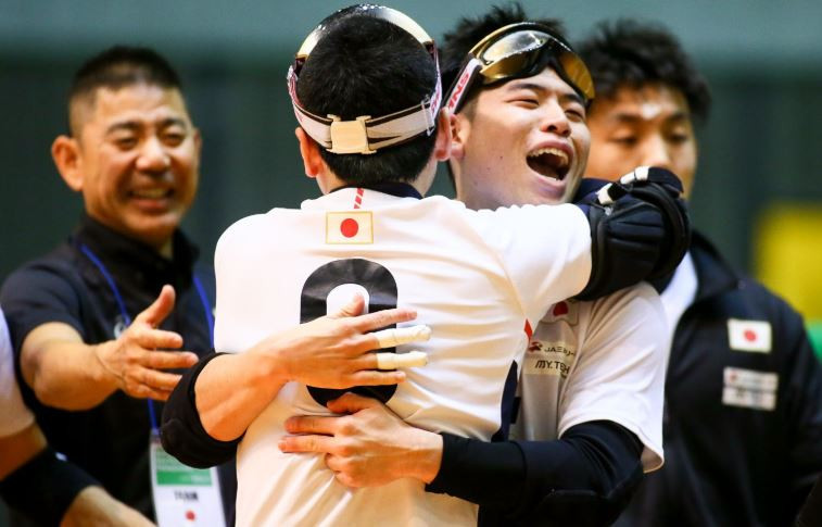 Japan won 11-4 against Thailand at Chiba Port Arena ©IBSA Goalball