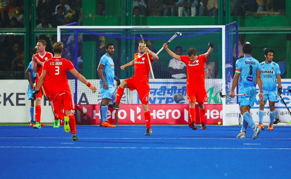 Netherlands see off hosts to top group at Hockey World League final