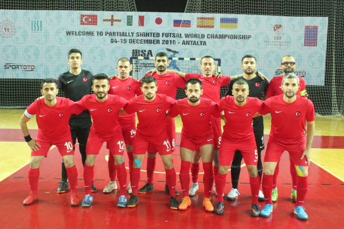 Hosts Turkey defeat Japan as IBSA Partially Sighted Football World Championships begin