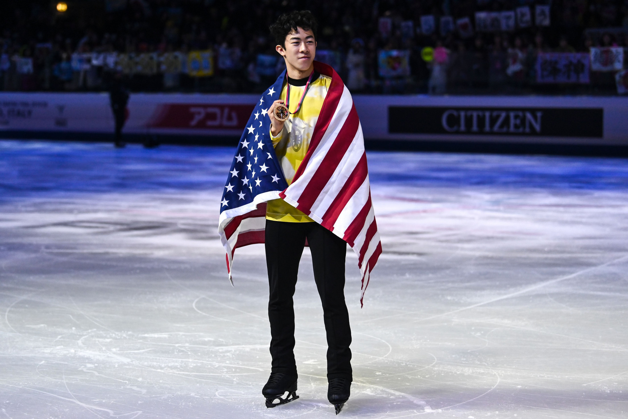 Chen sets world record to clinch ISU Grand Prix Final glory