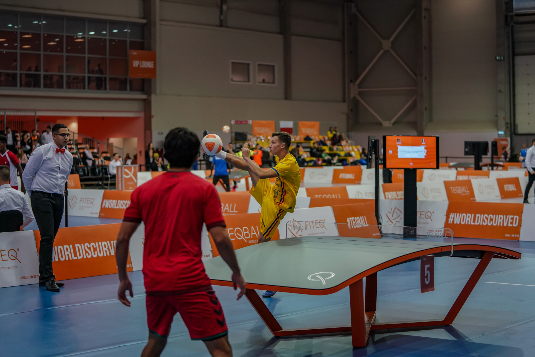 The singles competition reached its conclusion ©FITEQ