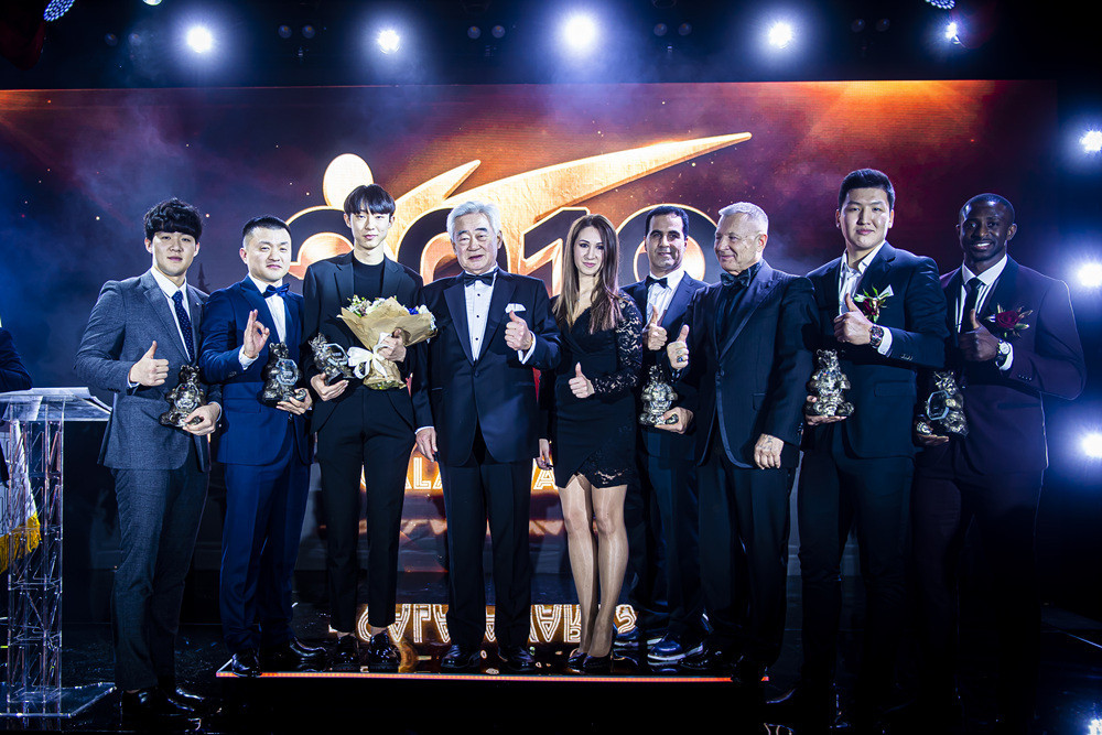 World Taekwondo President Choue Chung-won offered his congratulations to the Gala Award-winners in Moscow ©World Taekwondo