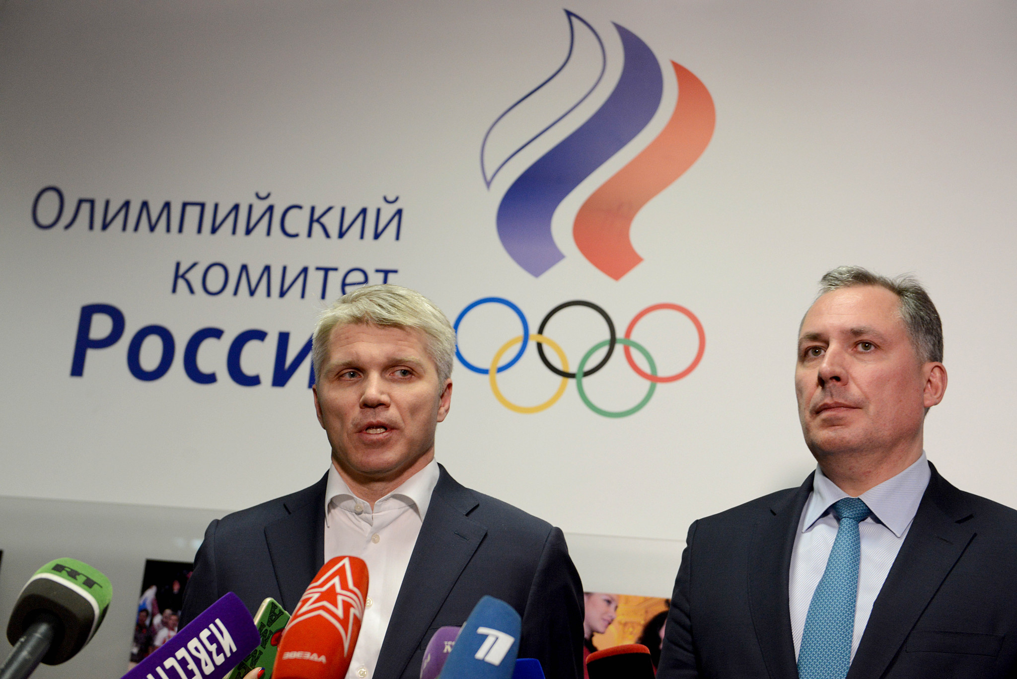 Reeling from doping ban, Moscow blames 'anti-Russian hysteria'