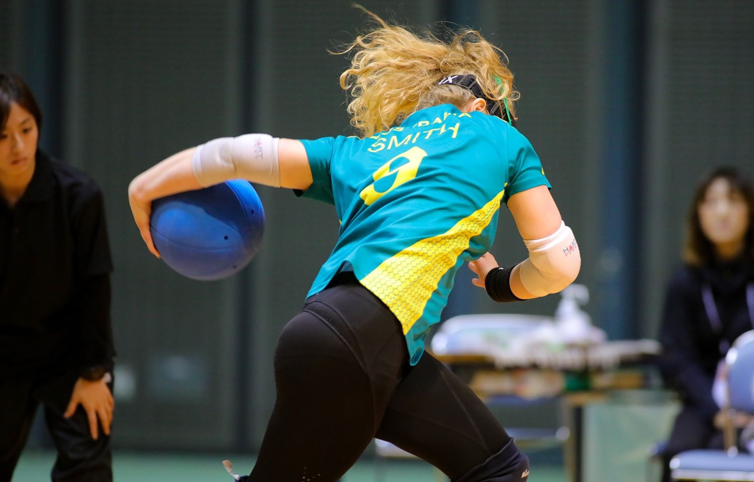 Australia were defeated 4-1 by China in the women's competition at the IBSA Goalball Asia-Pacific Championships ©Japan Goalball Association