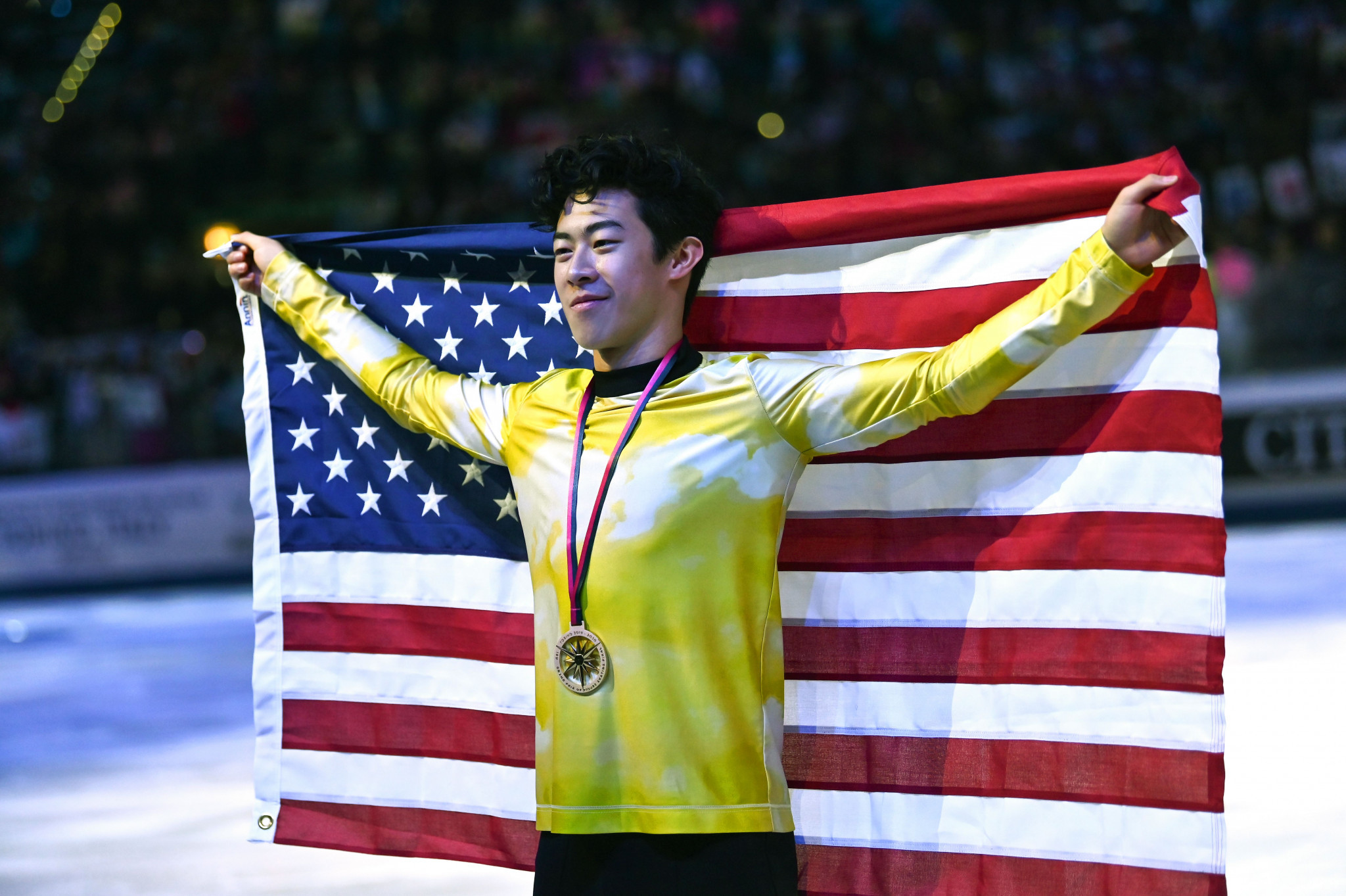 Figure skater Chen nominated for USOPC Best of November awards
