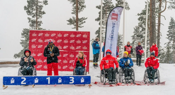 Great Britain's Mapp wins second race at IBSF Para Sport World Cup in Lillehammer