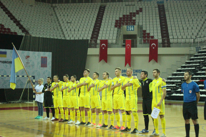 Ukraine are the IBSA Partially Sighted Football World Championship defending champions ©IBSA