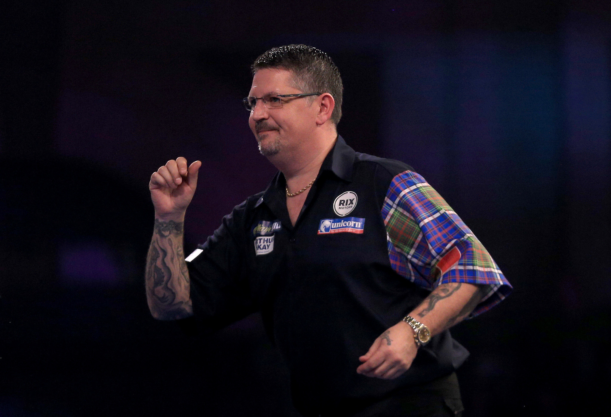 Gary Anderson, twice a PDC world champion, has spoken up recently for darts' right to be considered as a testing Olympic sport ©Getty Images